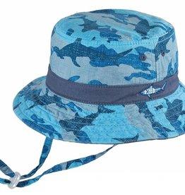 Dozer Dozer Baby Bucket Reef - Blue (S)