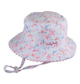 Millymook Baby Girls Bucket - Shoreline Pink S (0-12m)