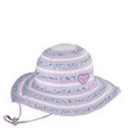 Millymook Girls Floppy - Sweetheart Lilac L