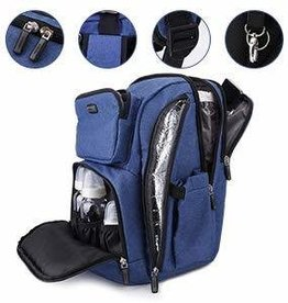 La Tasche La Tasche Iconic Backpack - Blue Denim