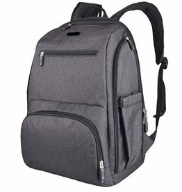 La Tasche La Tasche Metro Backpack - Charcoal