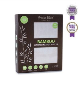 Bubba Blue Bubba Blue Bamboo Collection Waterproof Mattress Protector Large Cot