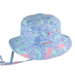 Millymook Girls Bucket - Tropics Blue L