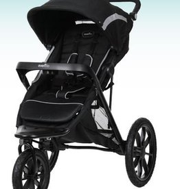 Evenflo Evenflo Invigor8 Platinum Jogging Stroller Black