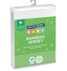 Protect-A-Bed Protect-A-Bed® Bamboo Basinett Mattress Protector Fitted