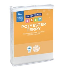 Protect-A-Bed Protect-A-Bed® Polyester Terry Cot Mattress Protector