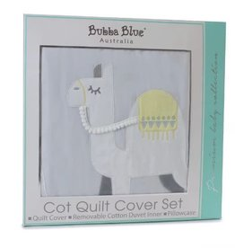 Bubba Blue Bubba Blue Sahara Cot Quilt Cover Set (removable insert & pillowcase)
