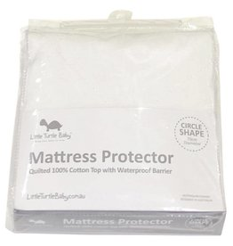 Little Turtle Little Turtle Baby CIRCLE Bassinet - Fitted Mattress Protector