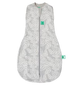 ErgoPouch ErgoPouch Cocoon Swaddle Bag (2.5 tog) - Rainforest Leaves