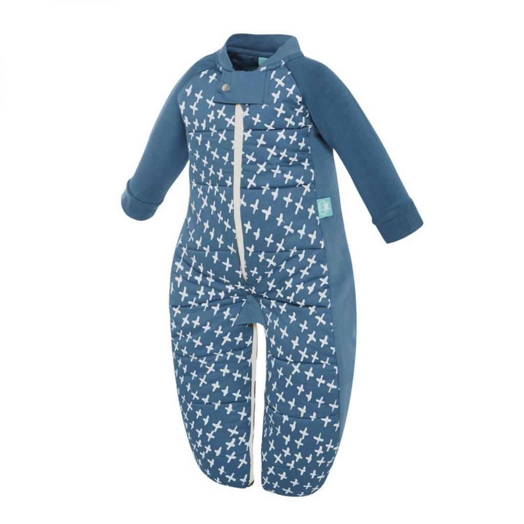 ErgoPouch ErgoPouch 2.5 Tog Sleep Suit Bag Navy Cross 2-12 months