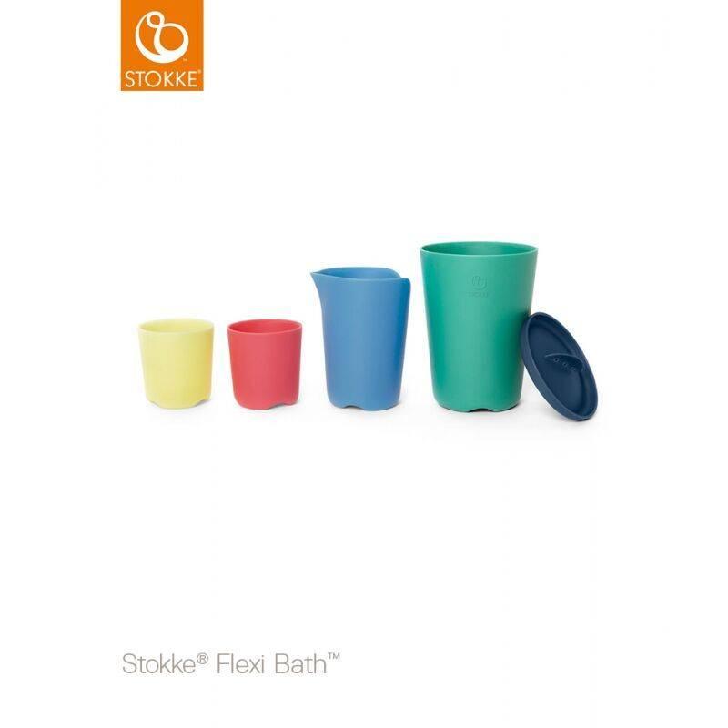 Stokke Stokke Flexi Bath™ Toy Cups Multi Colour