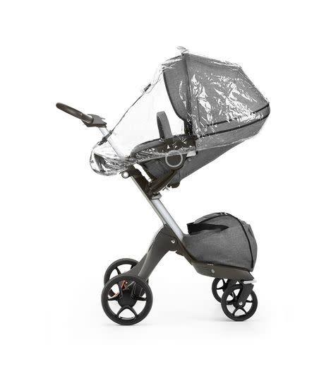 Stokke Stokke Stroller Rain Cover (For Xplory 6 and Trailz Black) Black