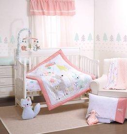 Little Haven Little Haven Woodland 5pc Set (Quilt, Sheet, Pillow Case,Change Pad Cover, Pillow)