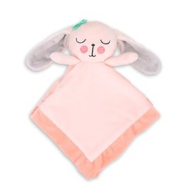 Little Haven Little Haven Security Blanket Pink Bunny