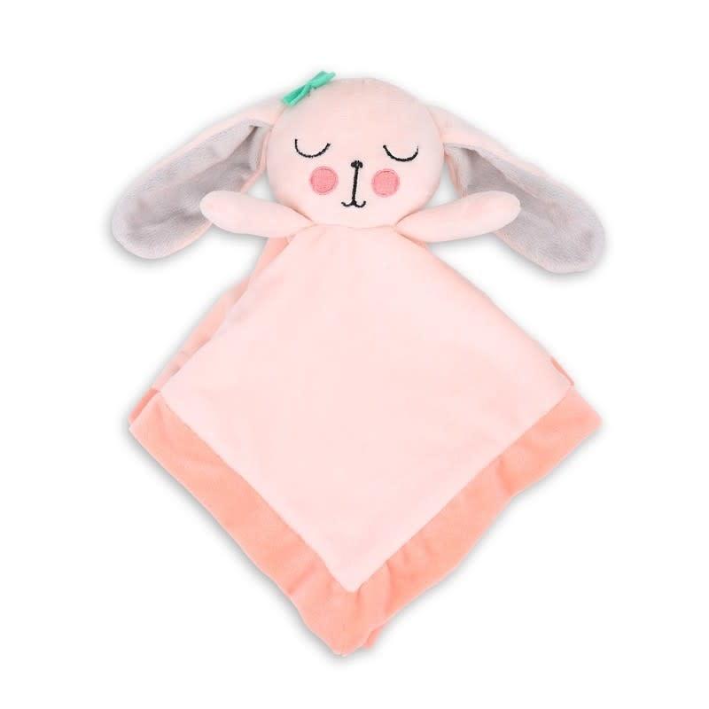 Little Haven Little Haven Security Blanket Pink Bunny