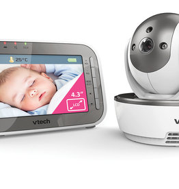 VTech VTech BM5500 Safe & Sound Tilt & Pan Video & Audio Baby Monitor
