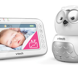 VTech VTech BM4500 OWL Tilt & Pan Video & Audio Baby Monitor