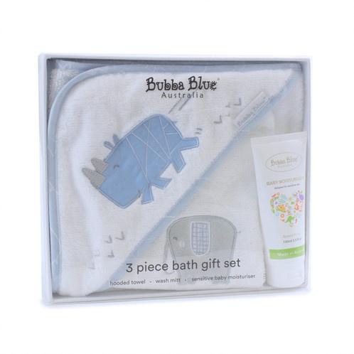 Bubba Blue Bubba Blue Rhino Run 3Pc Bath Time Set