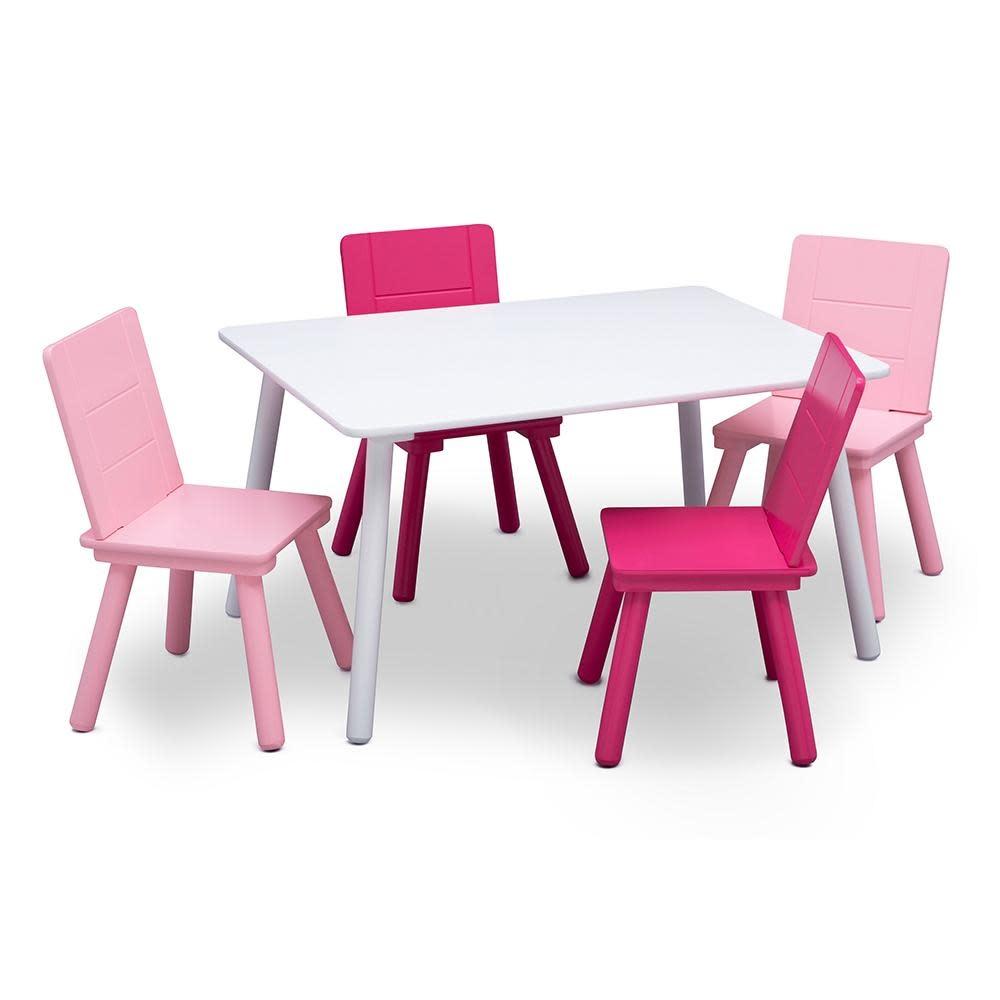 Astonishing Delta Children Kids Table And Chairs Set Frankydiablos Diy Chair Ideas Frankydiabloscom