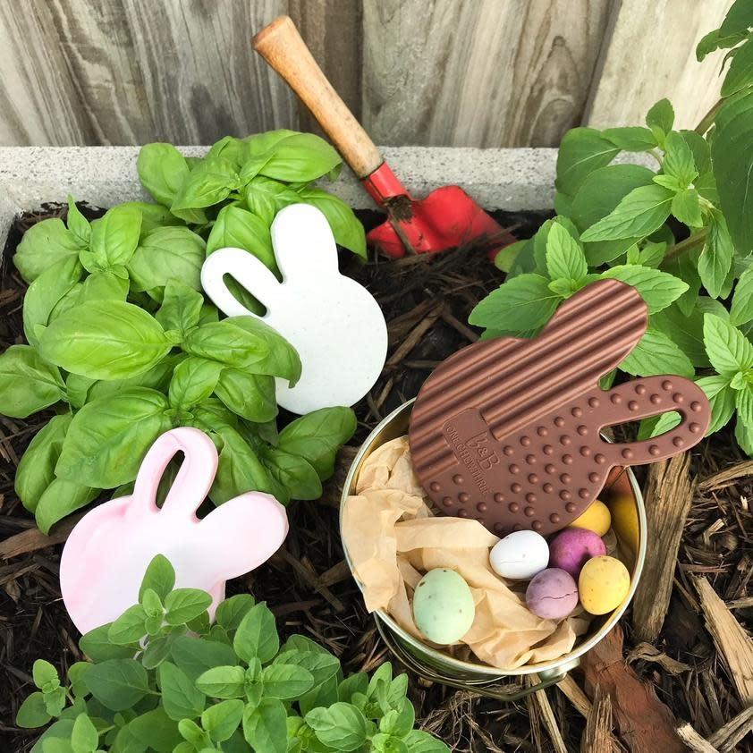 OneChewThree OneChewThree Easter Edition Bunny Silicone Teething Disc