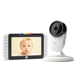 "Kodak Kodak C520 5"" Smart Video Baby Monitor with fixed camera"