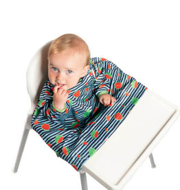 Fly Charlie Bibado High Chair Cover-all Bib