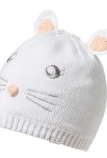 Millymook Millymook Baby Girls Beanie Bunny White S (0-12m)