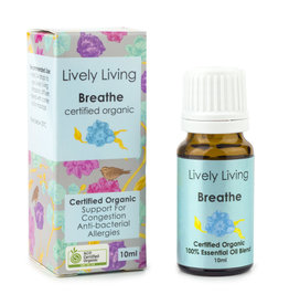 Lively Living Lively Living Breathe - Certified Organic 10ml