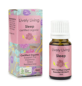 Lively Living Lively Living Sleep - Certified Organic 10 ml