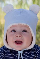 Bedhead Bedhead Teddy Fleecy Beanie - Baby Blue Marle