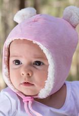 Bedhead Bedhead Teddy Fleecy Beanie - Baby Pink Marle
