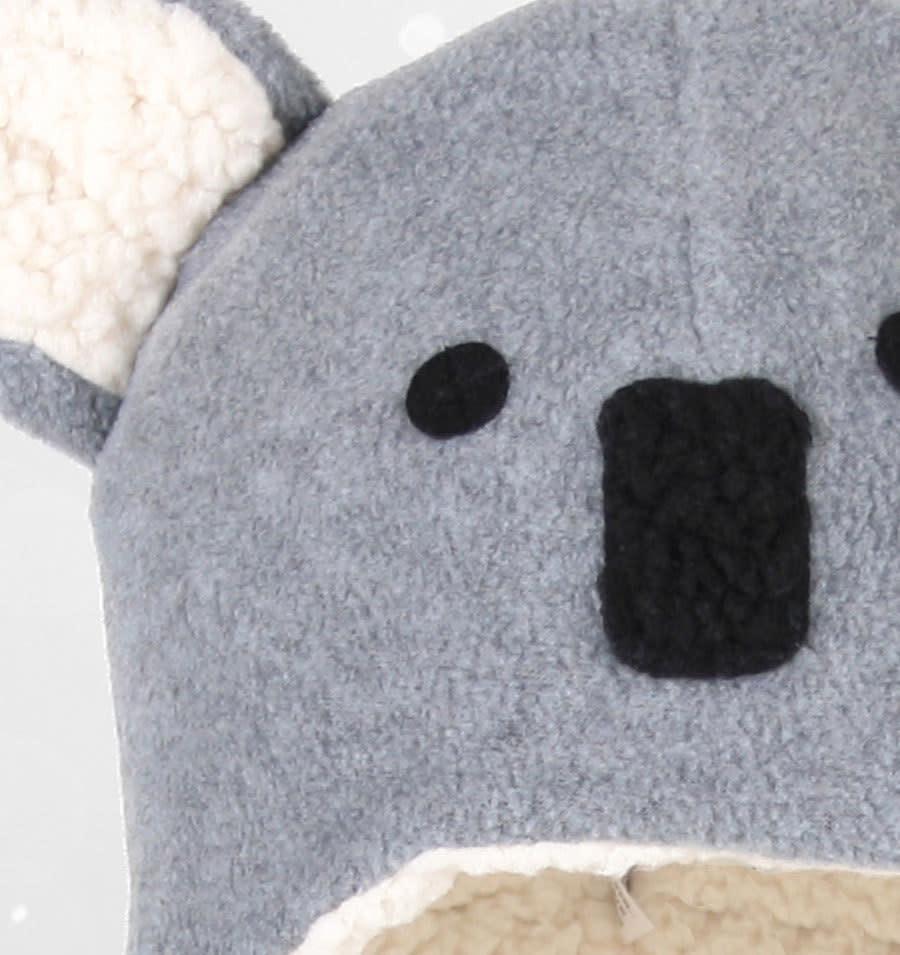 Bedhead Bedhead Koala Fleecy Beanie - Grey Marle