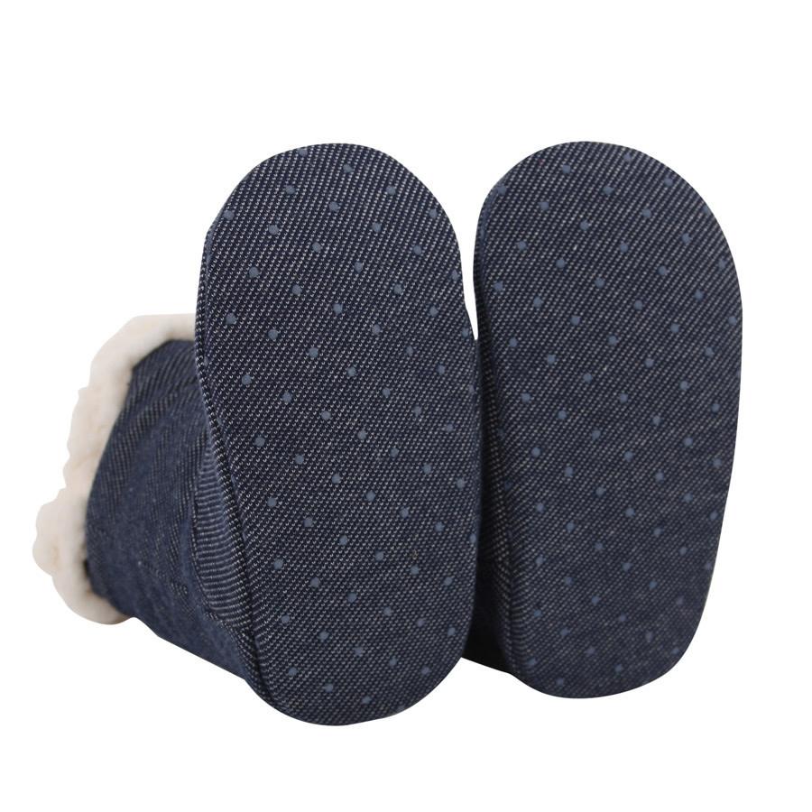 Bedhead Bedhead Fleecy Sleepy Booties - Denim