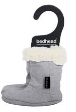 Bedhead Bedhead Fleecy Winter Booties - Grey Marle