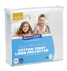 Protect-A-Bed Protect-A-Bed Cotton Terry Linen Protector