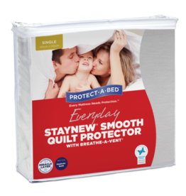 Protect-A-Bed Protect-A-Bed Staynew Smooth Quilt Protectors