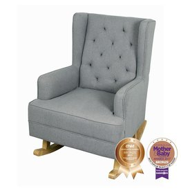 BeBecare Bebecare Regency Chair & Rocker Heather Grey
