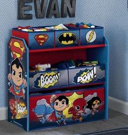 Delta Children Delta Children Multi Bin Toy Organiser Super Friends