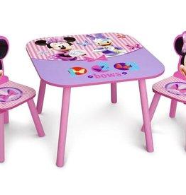 Delta Children Delta Children Table and Chair Set Minnie Mouse