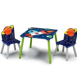 Delta Children Delta Children Table and Chair Set Alfie the Astronaut