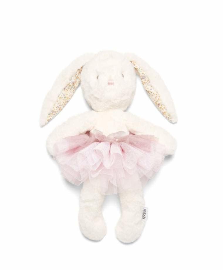 Mamas and Papas Mamas and papas Soft Toy - My First Ballerina Bunny Cream