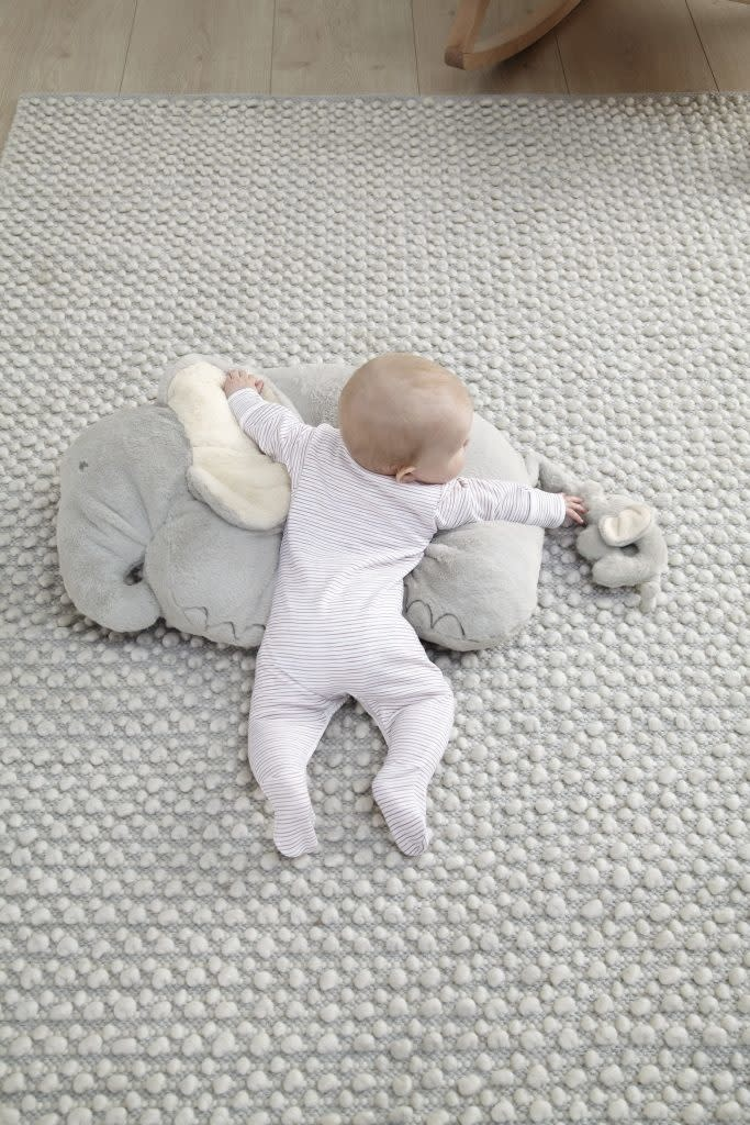 Mamas and Papas Mamas and papas Tummy Time Activity Rug - Elephant and Baby