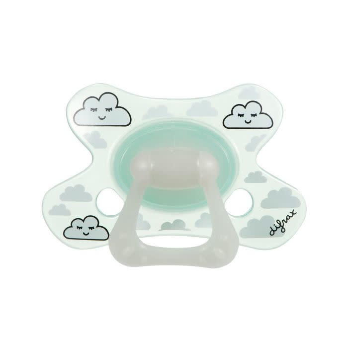 Difrax Difrax Soother Glow in the Dark Natural
