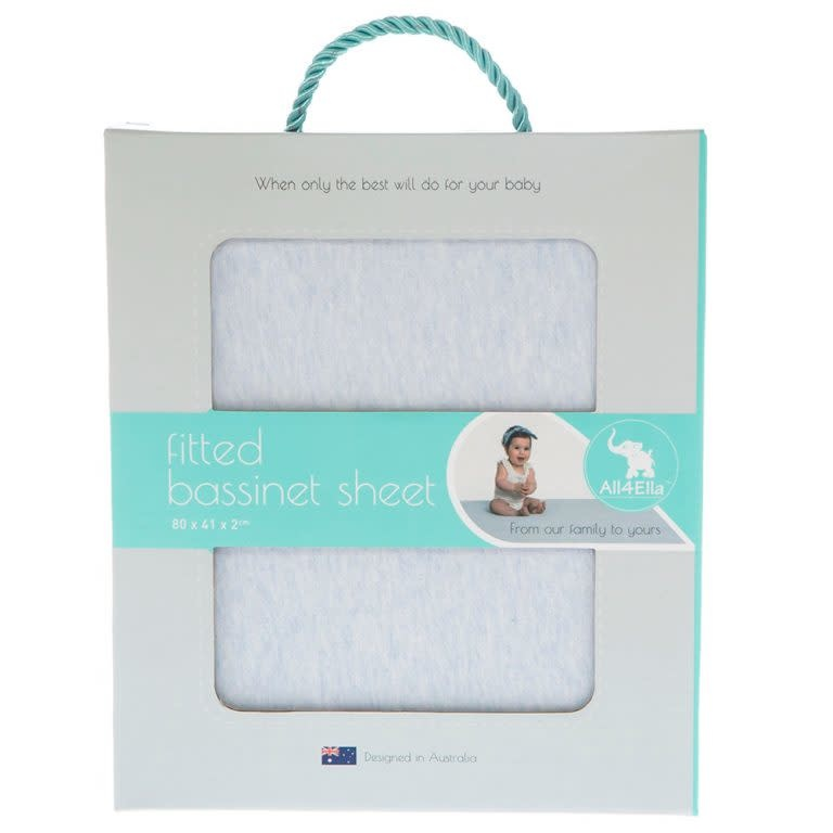 All4Ella All4Ella Fitted Bassinet Sheet