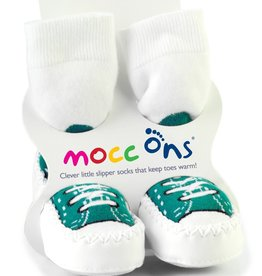Mocc Ons Mocc Ons  Turquoise Sneaker