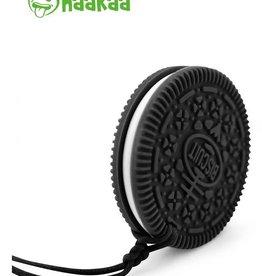 Haaka Haakaa Silicone Teether Cookie- Black