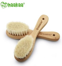 Haaka Haakaa Goat Wool Baby Hair Brush