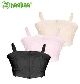 Haaka Haakaa Hands-Free Breast Pump Bra Black