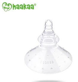 Haaka Haakaa Breast Feeding Nipple Shield- Round Shape- Pack of 1