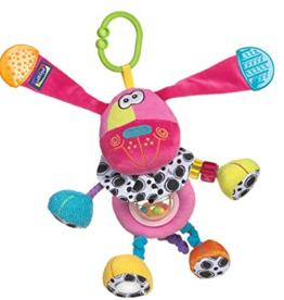 Playgro Doofey Dog Pink